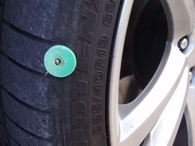 nail in sidewall - Hyundai Genesis Forum