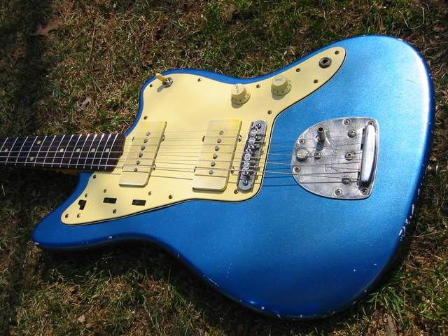 Lake Placid Blue 60 S Style Jazzmaster Relic Pictures